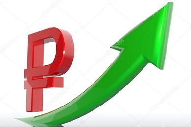 Рост курса рубля