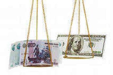 Ослабление рубля - 2013