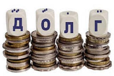 Долги по банковским кредитам