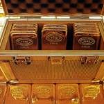 Россия увеличивает золотые резервы