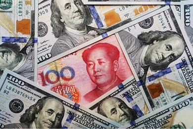 Курс юаня к доллару США - 2016