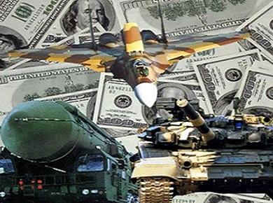 Военные расходы стран - 2015