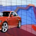 Продажи новых легковых авто в России - на минимуме за 10 лет