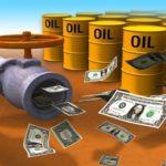 Экспорт нефти и газа из России в 2016г.