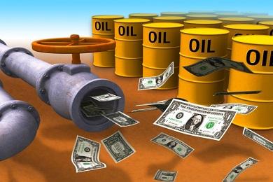 Доход России от экспорта нефти упал до минимума за 12 лет