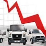 Продажи новых легковых автомобилей в России в 2016г. снова упали