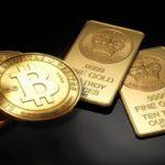 Курс биткоина в 2017г. превысил стоимость золота