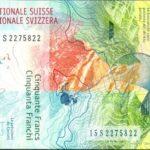 Лучшая банкнота в мире - 50 франков Швейцарии