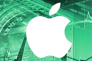 Стоимость акций Apple