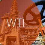 Цена на нефть марки WTI по годам