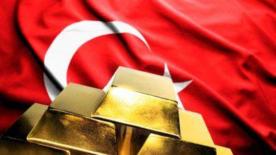 Валютные резервы Турции